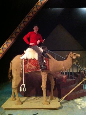Me riding my Camel