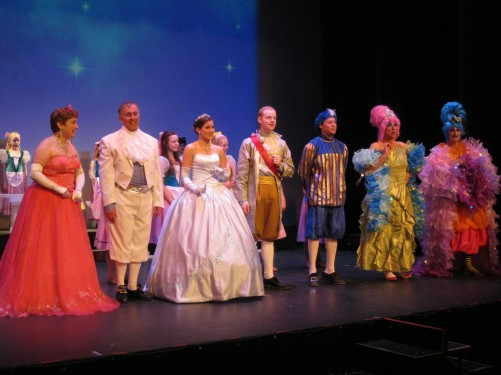 Cinderella Cast.