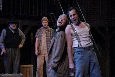 Hot Blades Harry in Urinetown - Firehall Theatre